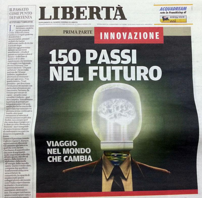 Innovazione, domani con Libertà un inserto gratuito tutto da leggere
