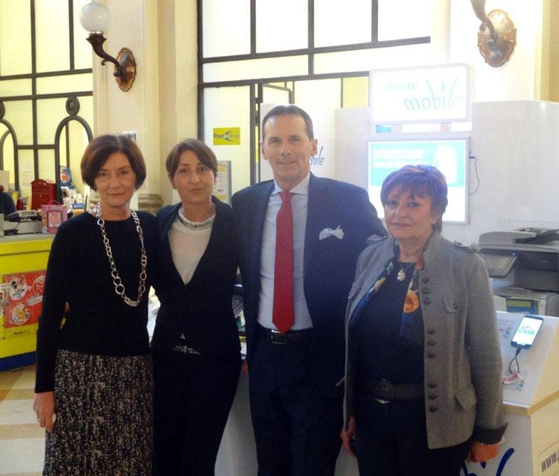 Enrico Carini responsabile della filiale di Piacenza di Poste Italiane