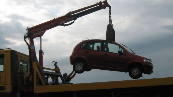 carro attrezzi, rimozione auto