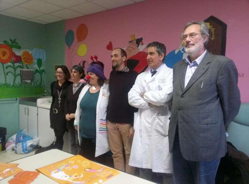 medici clown in Pediatria