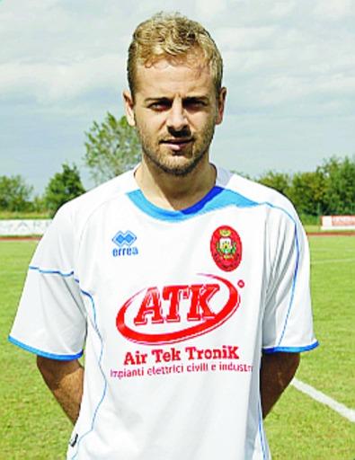 Mattia Marzani, centrocampista della Castellana