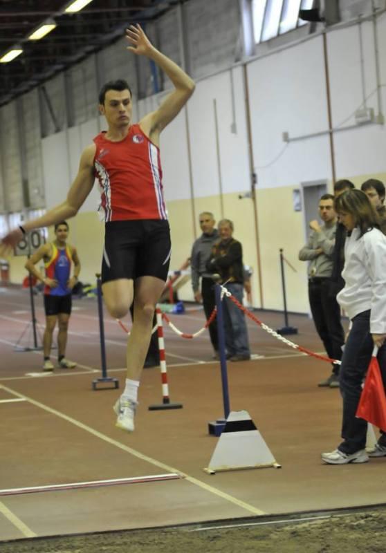 Stefano Braga in azione