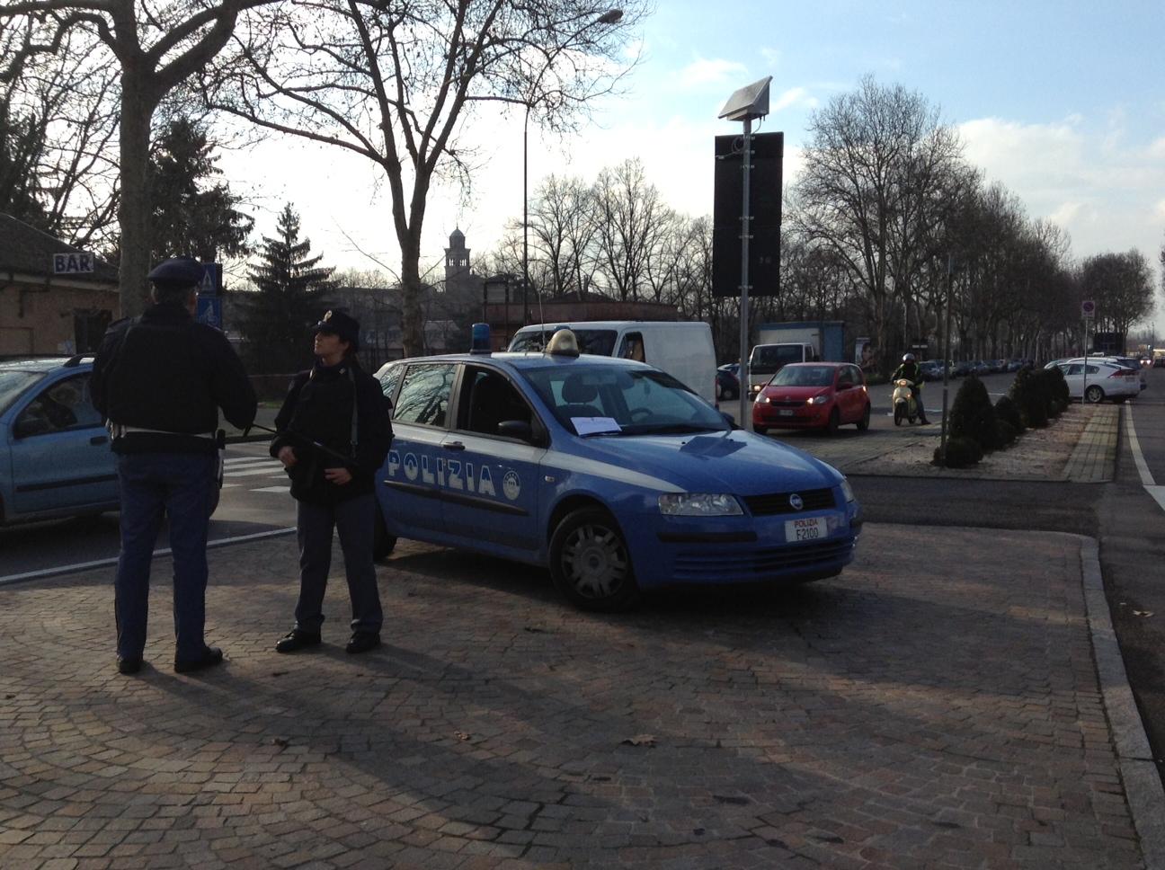 controlli interforze a Barriera Milano (1)