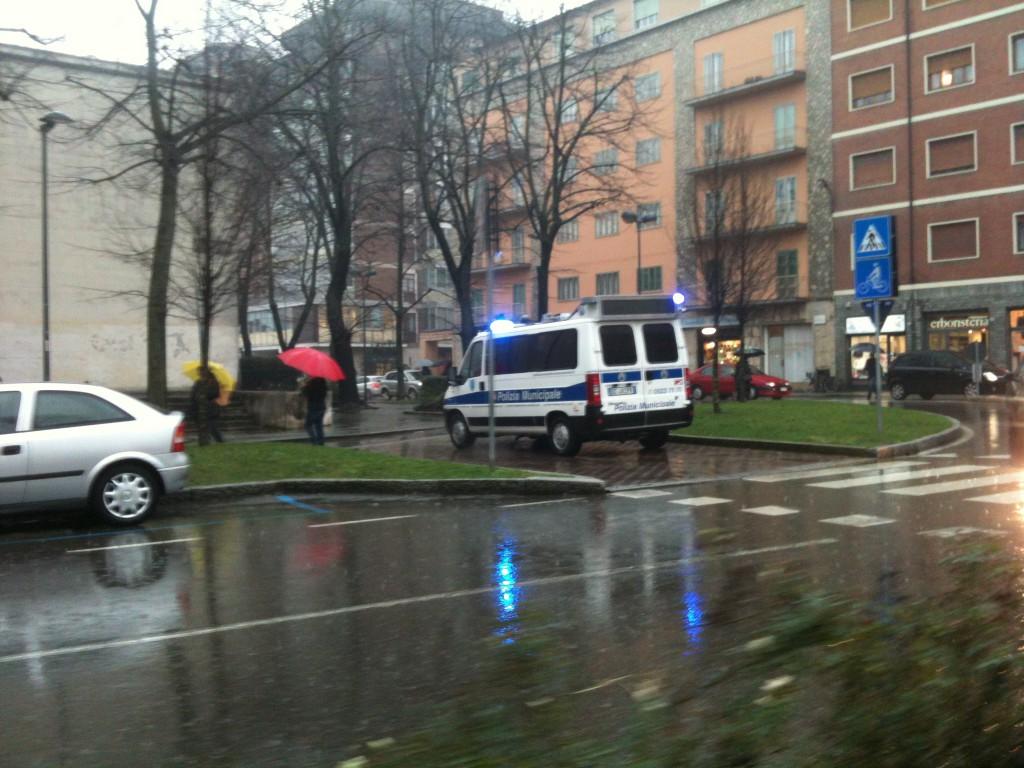 incidente stradale a Barriere Genova