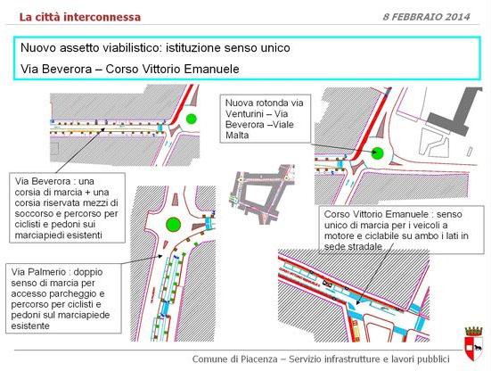 Viabilita Corso - Via Beverora