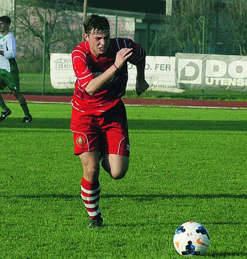 Riccardo Bertelli, giovane centrocampista della Castellana