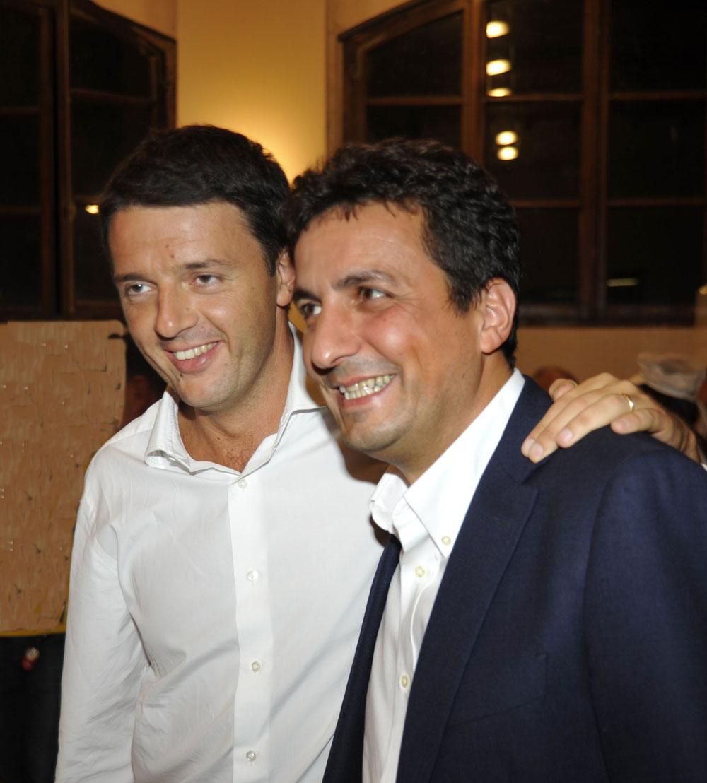 Festa Pd Livia Turco e Matteo Renzi 09.09.2012 (lambri) foto lunini.s