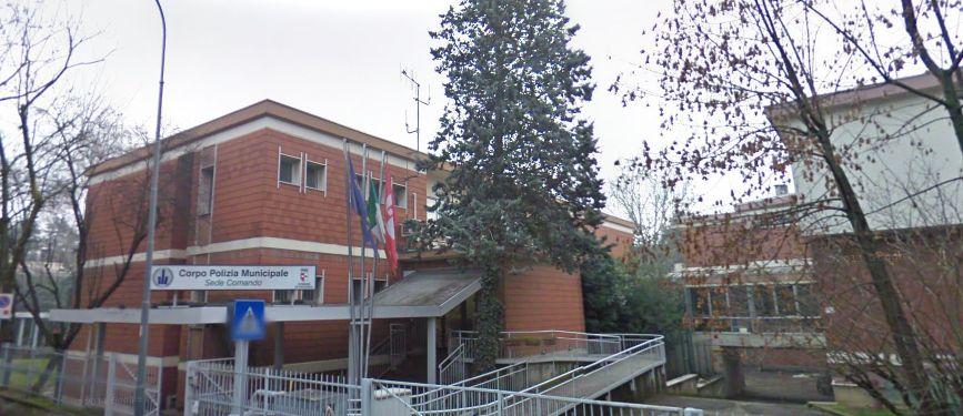 Caserma Polizia Municipale in via Rogerio