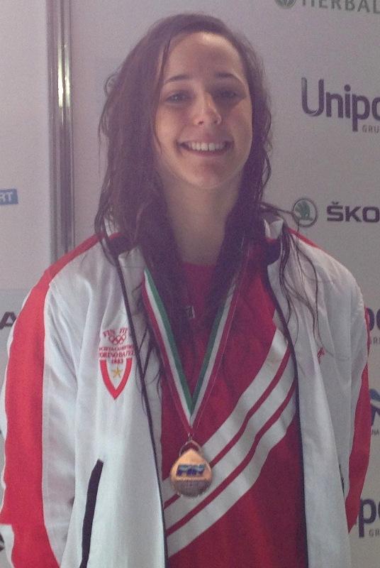 Alessia Ruggi, ancora una medaglia