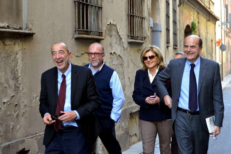 Pier Luigi Bersani in Fondazione
