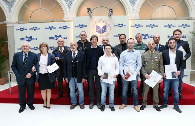 Atleti e dirigenti premiati a palazzo Galli dal Coni