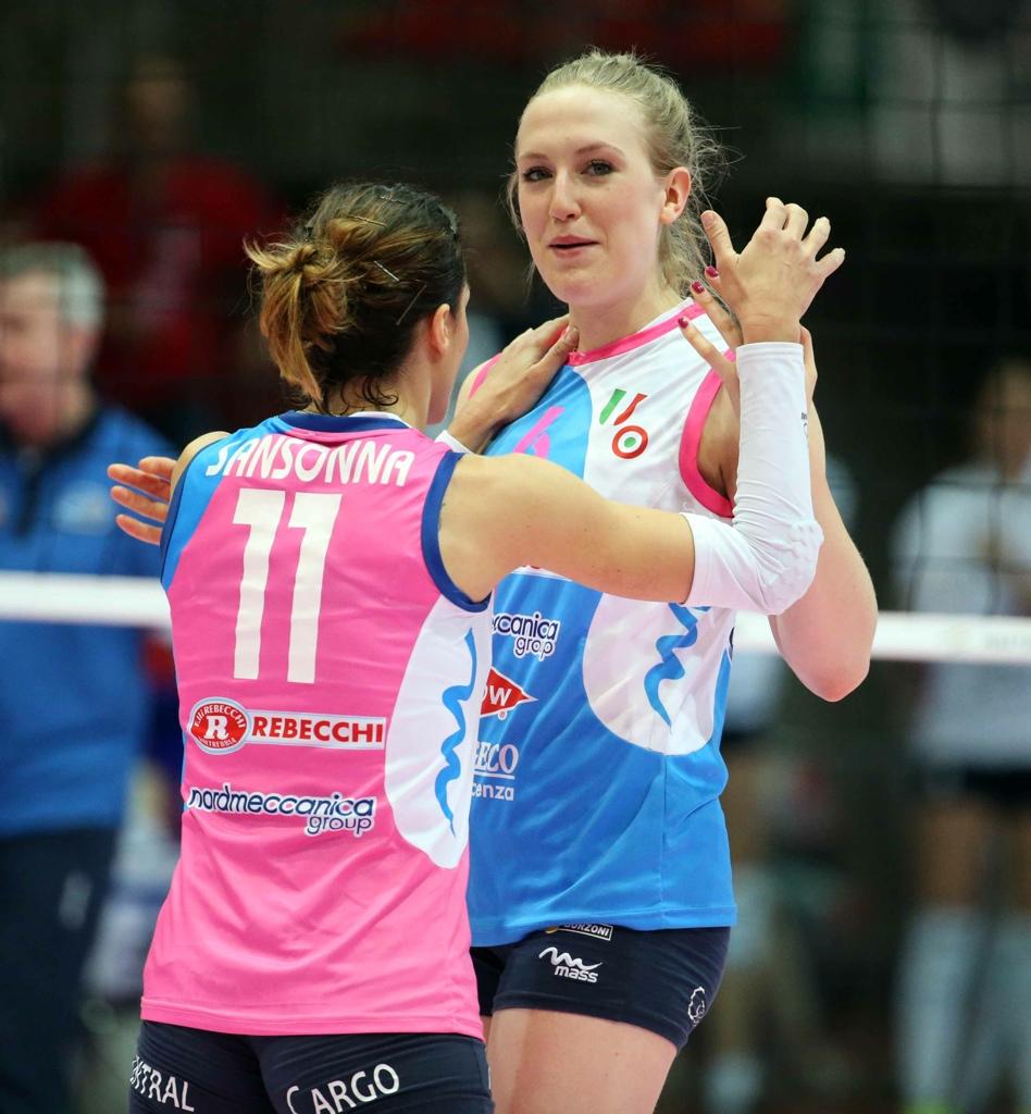 Rebecchi Nordmeccanica spietata anche in semifinale: Novara ko