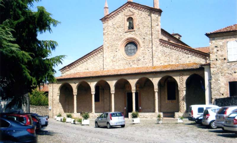 Bobbio, monastero di San Colombano-800