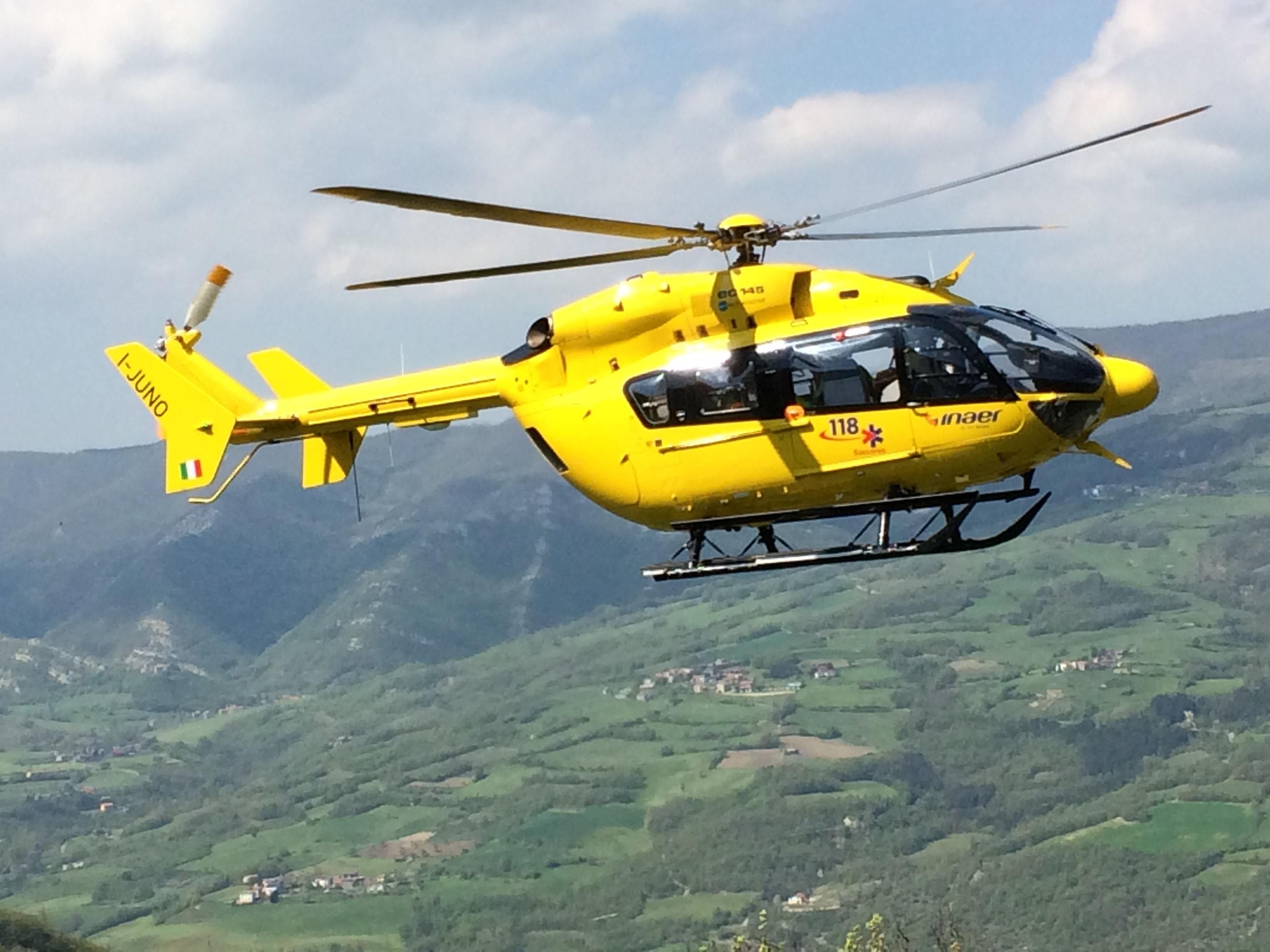 Cacciatore 56enne precipita in un dirupo dopo un volo di 20 metri