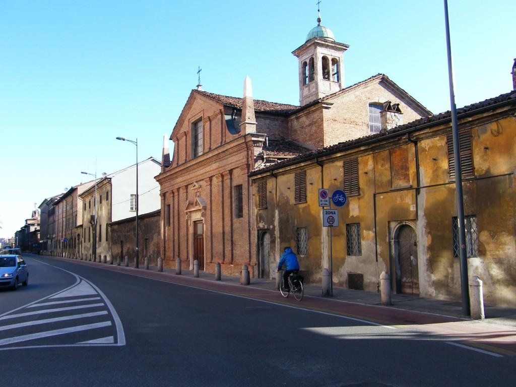 Il complesso di Santa Chiara