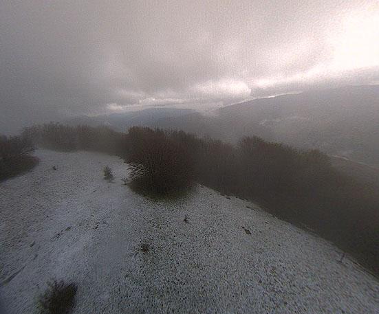 Monte Alfeo con la neve