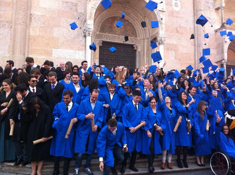 Festa di laurea  - Cattolica