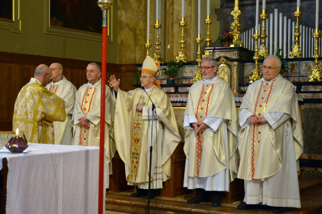 chiesa S. Carlo celebrazione eucaristica 1° maggio