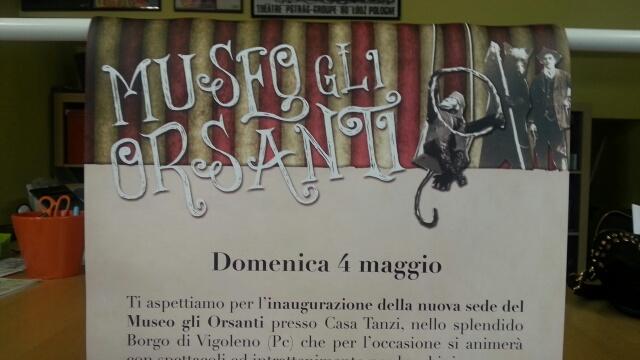Vigoleno, museo degli Orsanti. Domenica pomeriggio l'inaugurazione