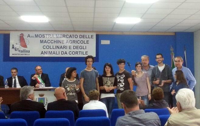 Studenti del Raineri vincitori del Concorso Montecastrilli