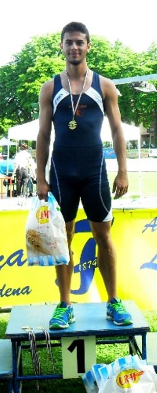 Filippo Tambresoni: è il nuovo primatista provinciale sui 200 metri