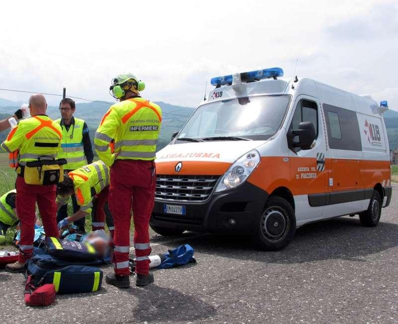 Incidente ciclista a Pianello