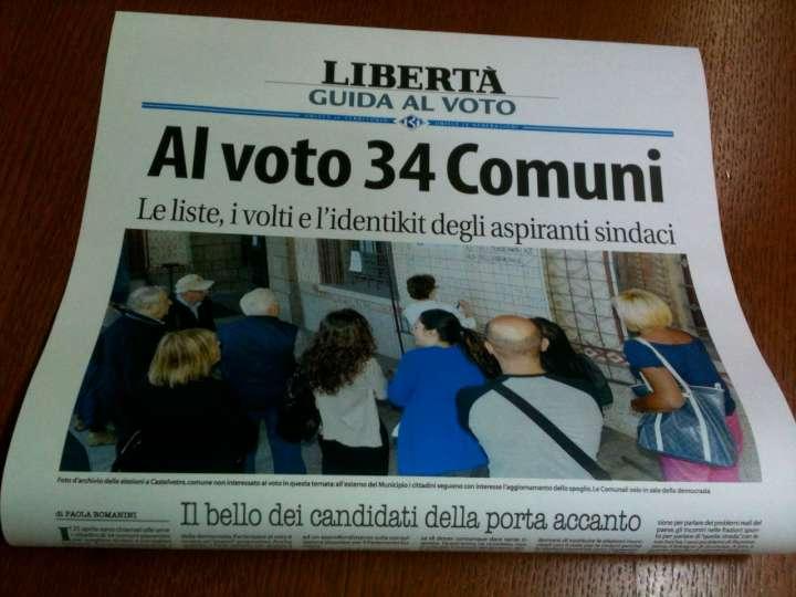 Elezioni 2014, oggi e domani con Libertà la Guida al voto