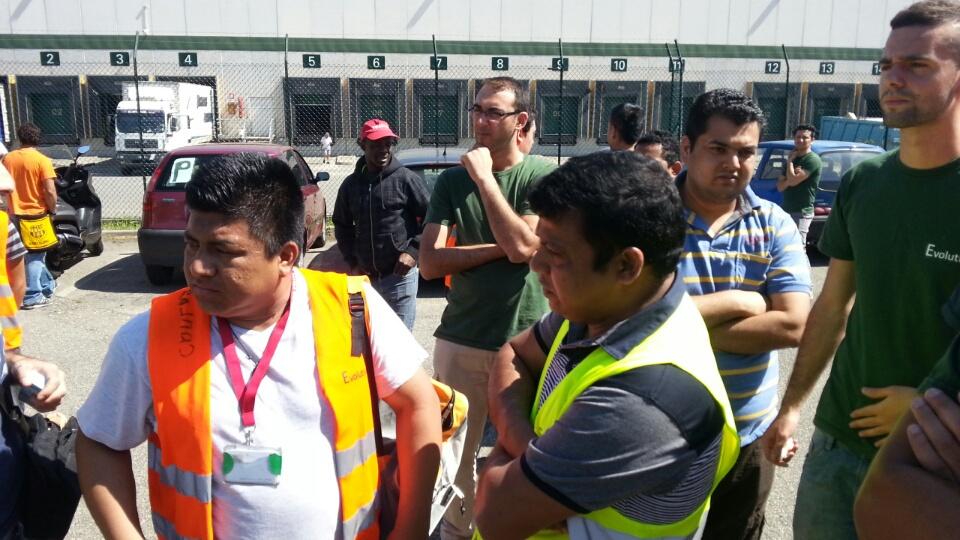 Protesta lavoratori polo logistico (5)