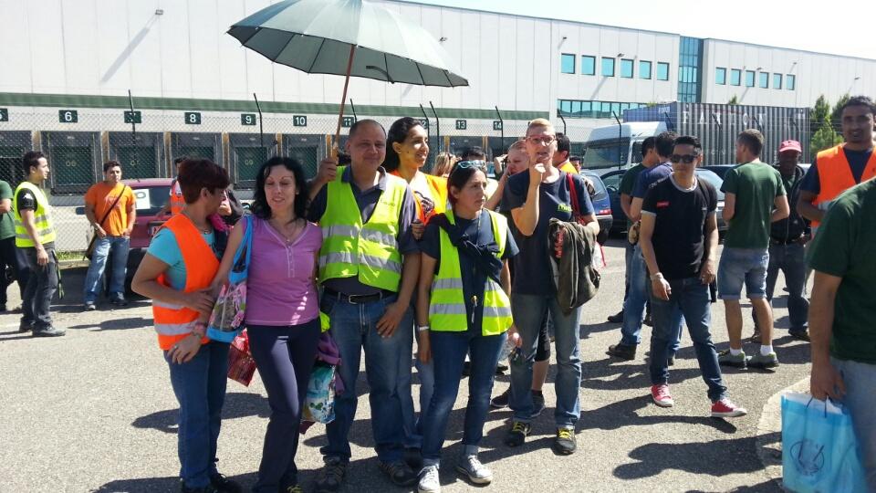 Protesta lavoratori polo logistico (6)