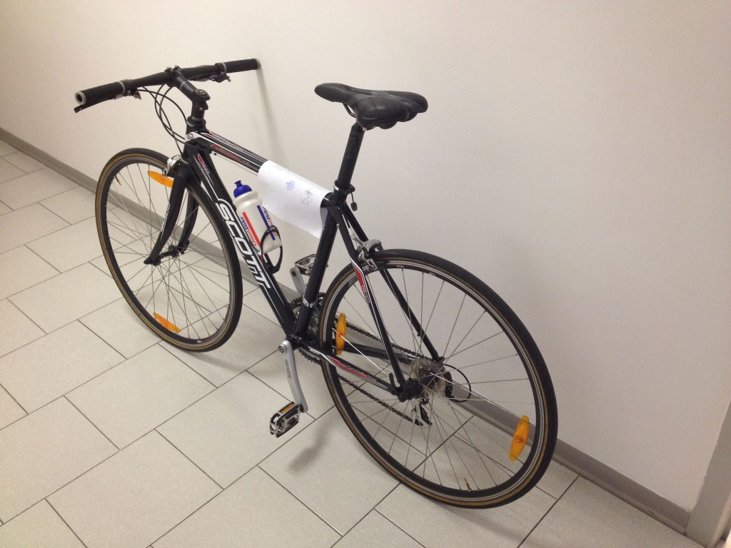 bicicletta recuperata