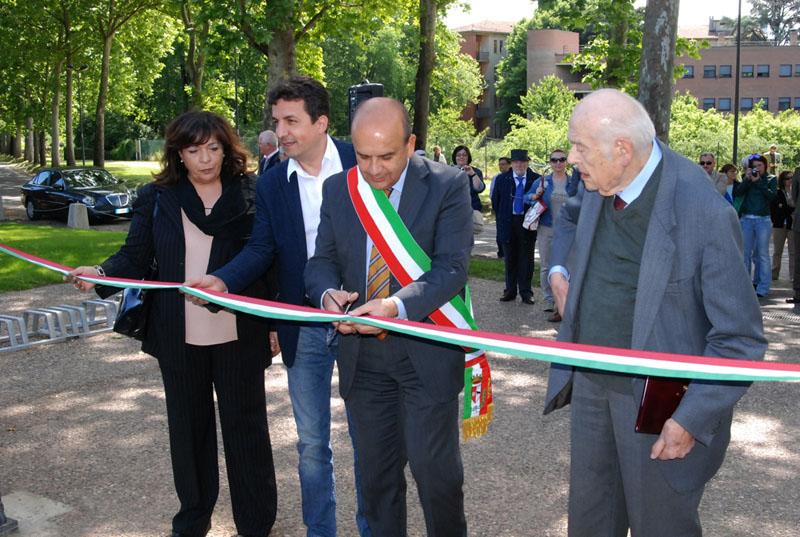 Inaugurazione Bastione via Tramello