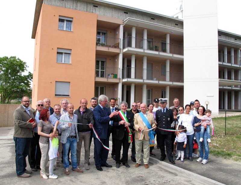 Castelsangiovanni - Inaugurazione casa popolare