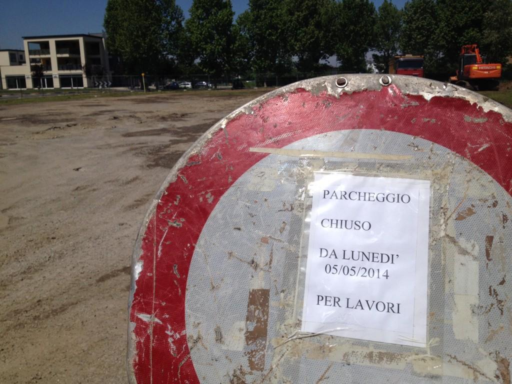 parcheggio besurica lavori