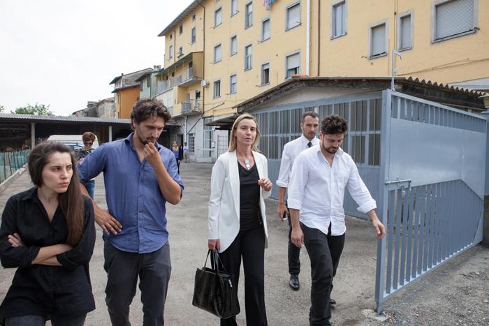 Pianello VT - Visita del Ministro Mogherini a Cesuralab (romanini) petrarelli.a