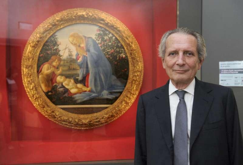Tondo di Botticelli e ambasciatore Giorgi