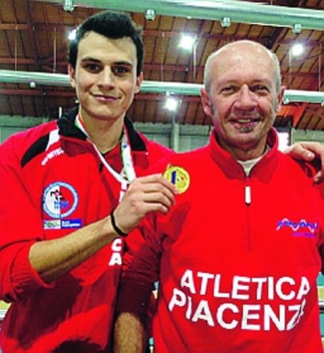 A sinistra Stefano Braga con Piero Maserati