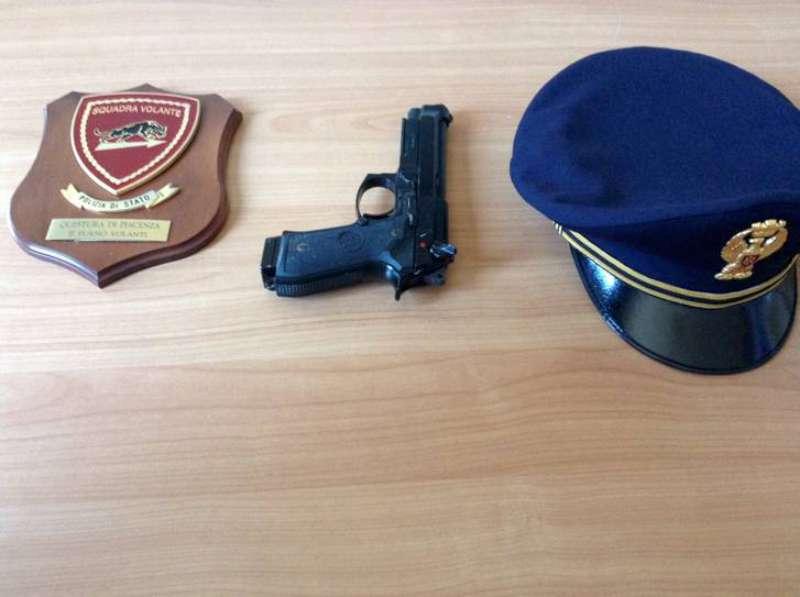 L'arma trovata ai bagni del Facsal