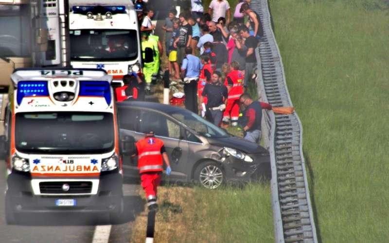 incidente in A21 a Caorso (3)