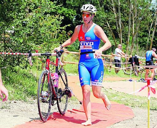 Triathlon alla diga del Molato: Riccardo Natari e Alice Saltarelli sono insaziabili