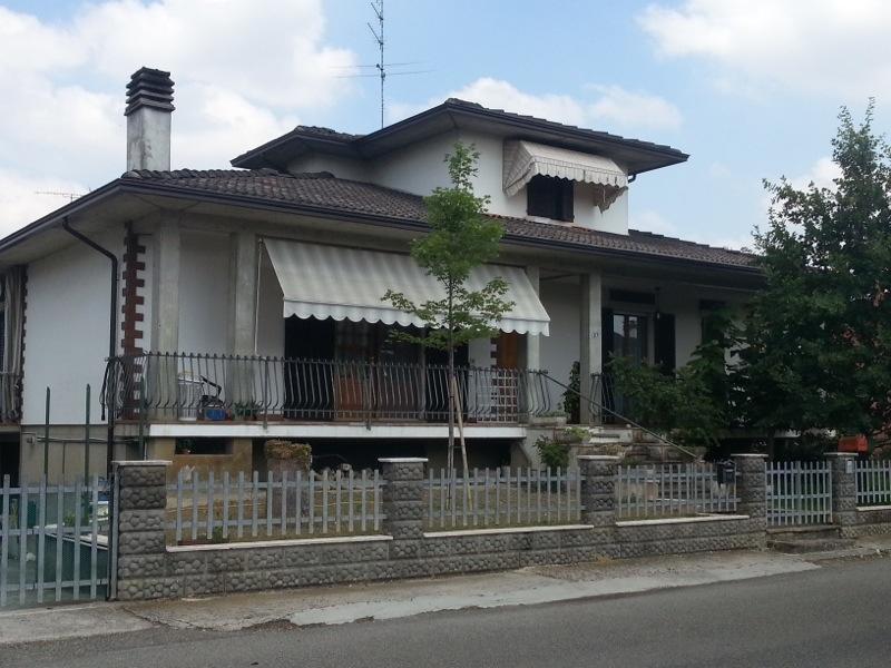 L'abitazione di Marco Vallisa, a Roveleto di Cadeo