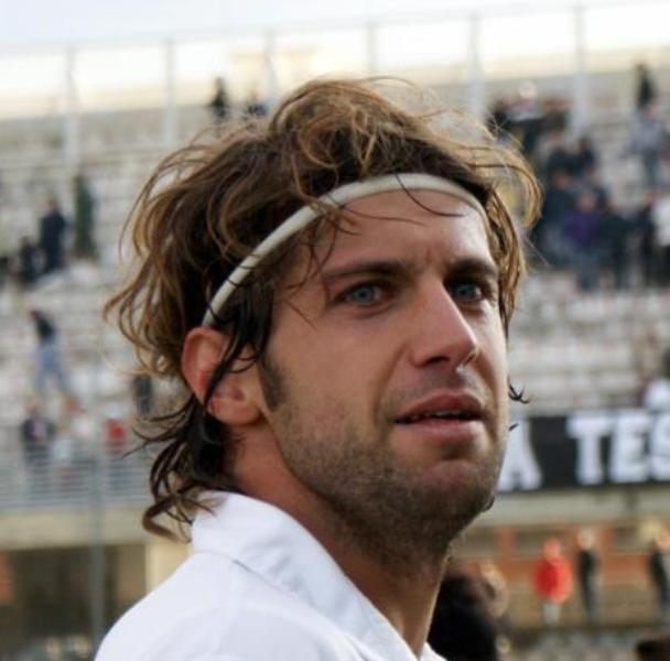 Massimiliano Mei, 33 anni, è un giocatore del Piacenza