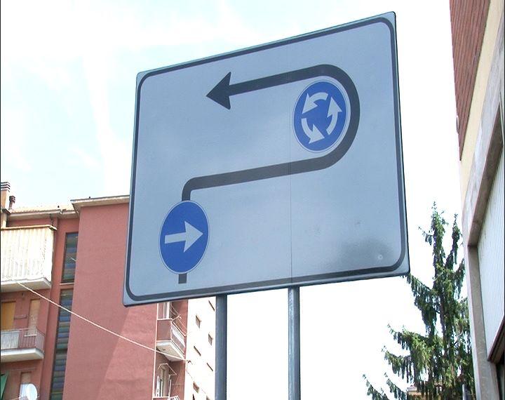 cartello via raffalda