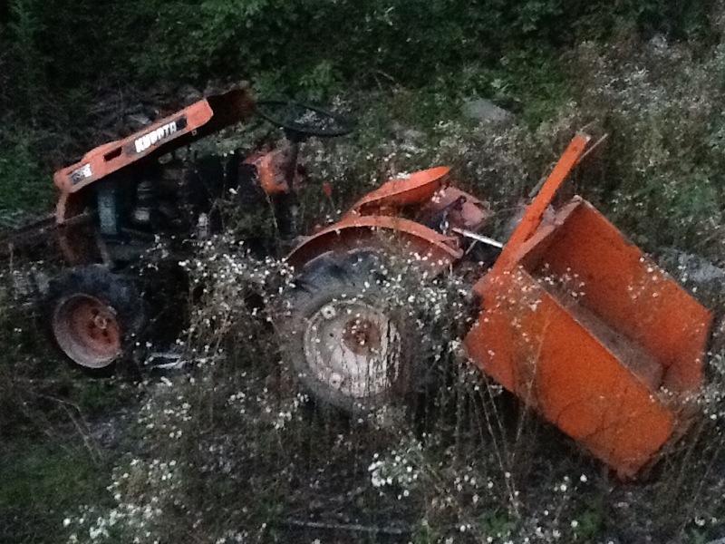 Incidente con trattore a Bobbio