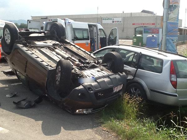 incidente stradale casaliggio