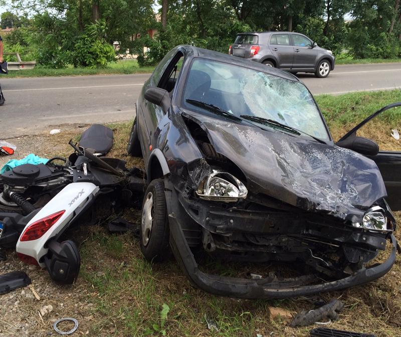Incidente stradale Sarmato
