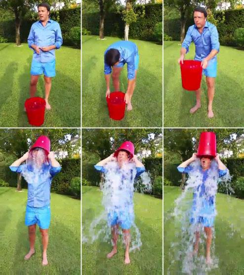 Renzi - Ice Bucket Challenge