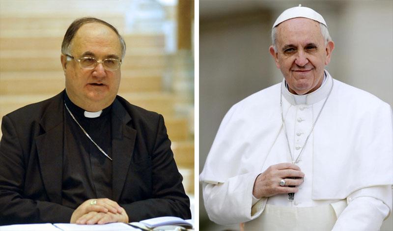 Monsignor Lanfranchi e Papa Francesco