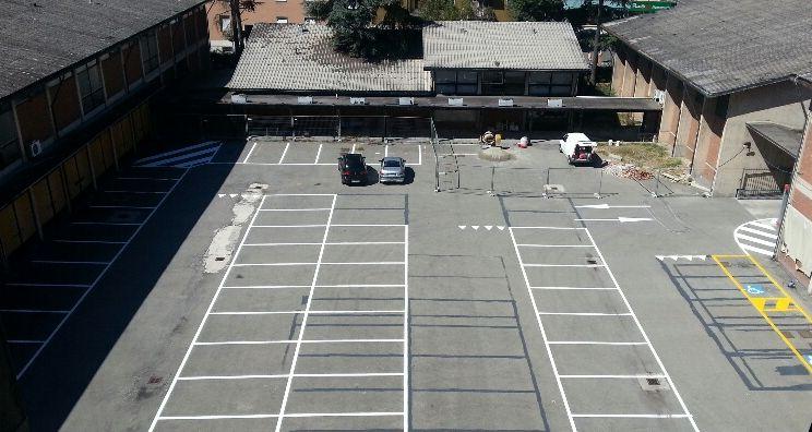 parcheggio viale dante ex caserma VVF