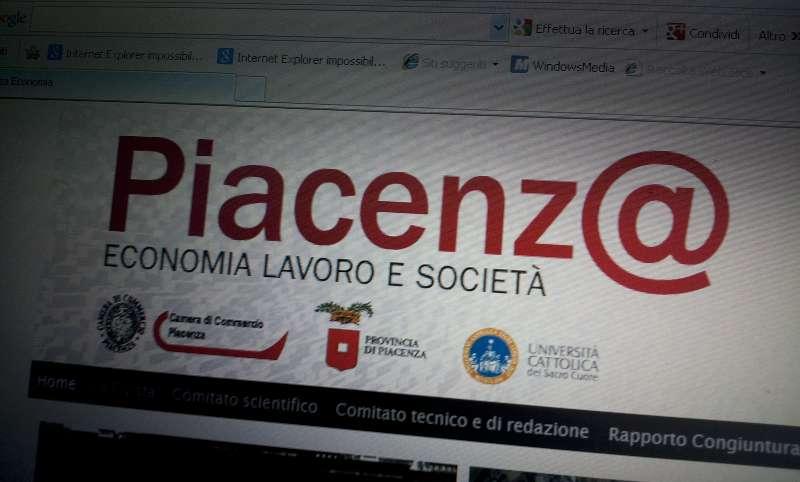 """79951f1fc7 """"Piacenz@ Economia Lavoro e Società"""". Analisi sulla crisi in tempo reale"""