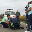 Gossolengo: malore alla biciclettata, ciclista al pronto soccorso